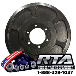 "15"" Steel Outer Idler Wheel - Fits CAT 277C 277C2 277D Free Shipping"