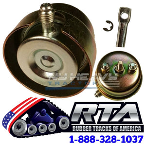 One Wastegate Actuator with Rod End Kit & Heat Shield for CAT C15 BXS 2694178 Turbo