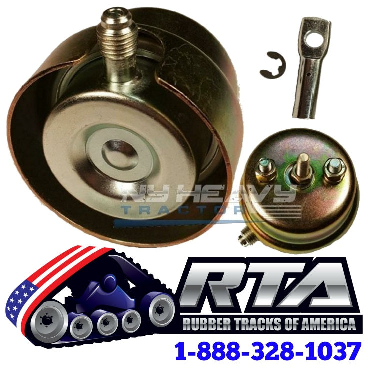 One Wastegate Actuator with Rod End Kit & Heat Shield for CAT C15 BXS 10R2407 Turbo