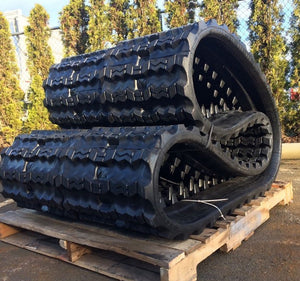 "2 Rubber Tracks Fits John Deere CT332 400X86X56 ( 16"" ) Free Shipping"