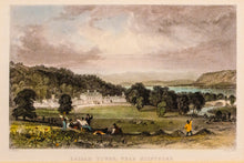 Load image into Gallery viewer, Dallam Tower near Milnthorp - Antique Steel Engraving circa 1834