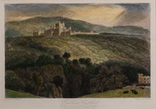 Load image into Gallery viewer, Lowther Castle - Antique Steel Engraving circa 1836