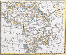 Load image into Gallery viewer, A New Map of Africa From the Best Authorities - Antique Map 1791