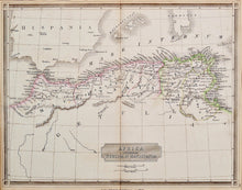 Load image into Gallery viewer, Africa Propria Numidia et Mauritania - Antique Map circa 1835