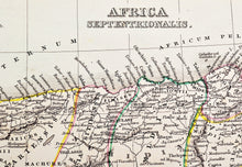 Load image into Gallery viewer, Africa Septentrionalis - Antique Map circa 1850