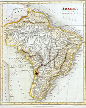 Load image into Gallery viewer, Brazil - Antique Map circa 1836
