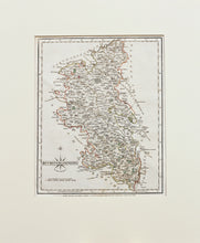 Load image into Gallery viewer, Buckinghamshire - Antique Map by John Cary 1787