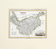 Load image into Gallery viewer, Cheshire - Antique Map by Fullarton circa 1848