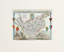 Load image into Gallery viewer, Cheshire - Antique Map by T Moule circa 1848