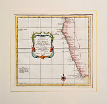 Load image into Gallery viewer, Coste Occidentale dAfrique - Antique Map circa 1740