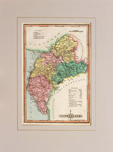 Load image into Gallery viewer, Cumberland - Antique Map by J Wallis circa 1814