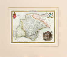 Load image into Gallery viewer, Devonshire - Antique Map by T Moule circa 1848