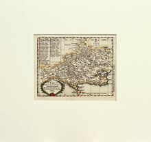 Load image into Gallery viewer, A Mappe of Dorsetshire - Antique Map by John Seller circa 1694
