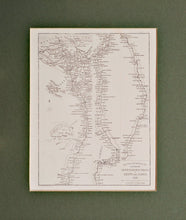 Load image into Gallery viewer, Egypt and Nubia 1849 - Antique Map circa 1852