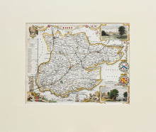 Load image into Gallery viewer, Essex - Antique Map by Thomas Moule circa 1848