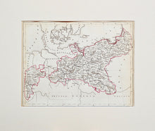 Load image into Gallery viewer, Germany - Antique Map circa 1860