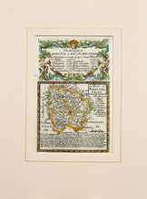 Load image into Gallery viewer, The Road from Bristol to Westchester - Antique Map by Owen/Bowen circa 1720