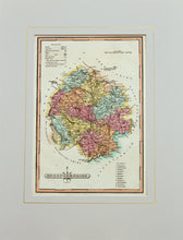 Load image into Gallery viewer, Herefordshire - Antique Map by J Wallis circa 1814