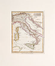 Load image into Gallery viewer, 'Italy' - Antique Map, circa 1815