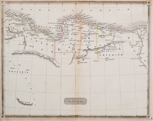 'Libya' - Antique Map, circa 1835