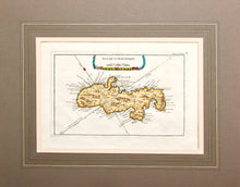 Load image into Gallery viewer, Isle de la Martinique - Antique Map of Martinique circa 1750