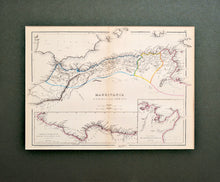 Load image into Gallery viewer, Mauritania Numidia and Africa - Antique Map 1856
