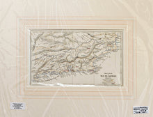 Load image into Gallery viewer, Province of Rio de Janeiro - Antique Map circa 1856