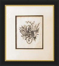 Load image into Gallery viewer, Framed Military Copper Engraving Circa 1775