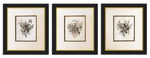 Military Trophies Triptych