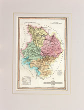 Load image into Gallery viewer, Huntingdonshire - Antique Map by J Wallis circa 1814