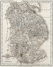 Load image into Gallery viewer, Lincolnshire - Antique Map by John Cary 1793