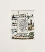 Load image into Gallery viewer, Lincolnshire - Antique Map by R Ramble circa 1845