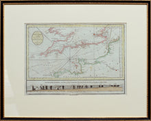 Load image into Gallery viewer, The British Channel, including the Coasts of England & France - Antique Sea Chart circa 1784