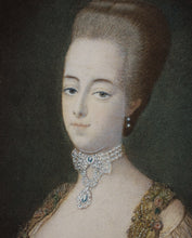 Load image into Gallery viewer, Marie Antoinette of France - Antique Aquatint circa 1777
