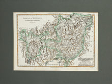 Load image into Gallery viewer, Cercle dAutriche - Antique Map circa 1780