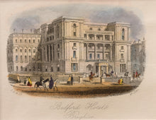 Load image into Gallery viewer, Bedford Hotel Brighton - Steel Engraving circa 1868