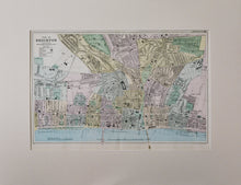 Load image into Gallery viewer, Antique Street Plan of Brighton circa 1895