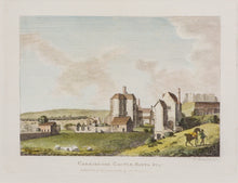 Load image into Gallery viewer, Caresbroke Castle Isle of Wight - Copper Engraving 1784