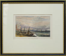 Load image into Gallery viewer, Chain Pier Brighton - Antique Steel Engraving circa 1831