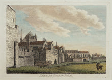 Load image into Gallery viewer, Chester Castle - Antique Copper Engraving circa 1784
