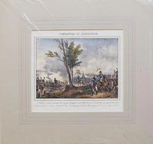 Load image into Gallery viewer, Combattimento Di Diersteim - Antique Lithograph circa 1820