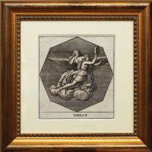 Load image into Gallery viewer, A Triptych of Antique, Italian Copper Engravings, circa 1680