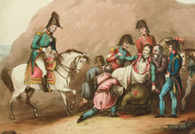 Load image into Gallery viewer, Death of Moreau Before Dresden Aug 1813 - Aquatint circa 1815