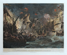 Load image into Gallery viewer, The Defeat of the Spanish Armada - Antique Copper Engraving 1805