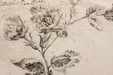 Load image into Gallery viewer, Brooch Design - Pencil Brush and Ink 18th Century