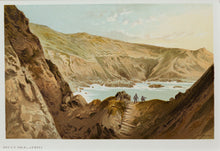 Load image into Gallery viewer, The Devils Hole, Jersey - Antique Chromolithograph circa 1880