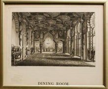 Load image into Gallery viewer, Dining Room Royal Pavilion Brighton  Aquatint 1808