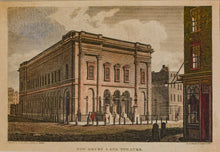 Load image into Gallery viewer, New Drury Lane Theatre - Antique Copper Engraving circa 1813