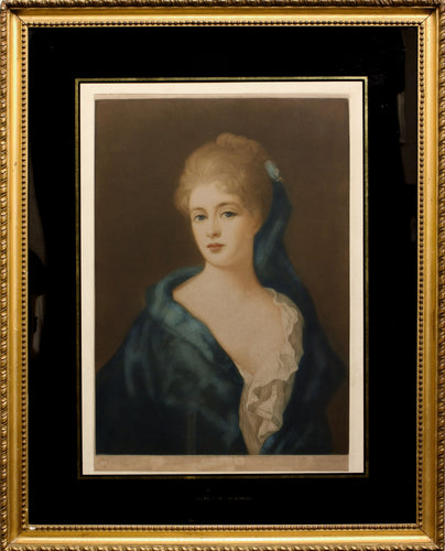 Duchess of Marlborough Sarah Jennings Mezzotint 1912