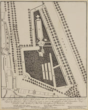 Load image into Gallery viewer, Plan of Duck Island - Antique Plan of St James Park 1807
